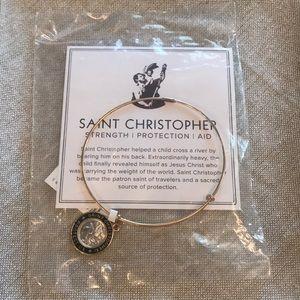 Alex and Ani Saint Christopher 14kt Bracelet